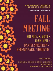ARLIS ON 2019 Fall Meeting date, time, location