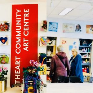 ArtHeart – Community Art Centre Sign and Studio