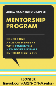 Call for ARLIS-ON Mentors and URL