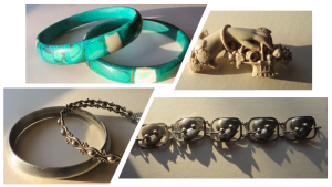 Bracelets and brooch