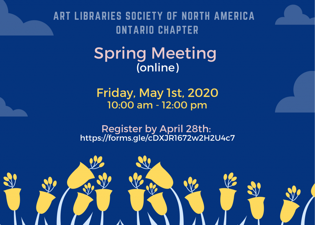 information about ARLIS-ON spring meeting